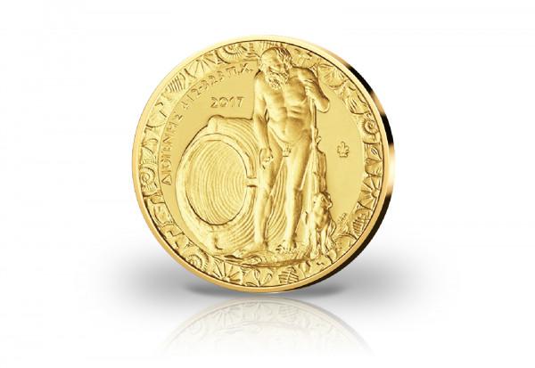 200 Euro Goldmünze 2017 Griechenland Diogenes PP im Etui