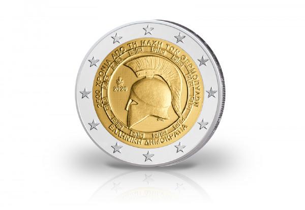 2 Euro 2020 Griechenland Schlacht bei den Thermopylen