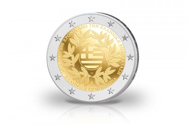 2 Euro 2021 Griechenland 200 Jahre Griechische Revolution