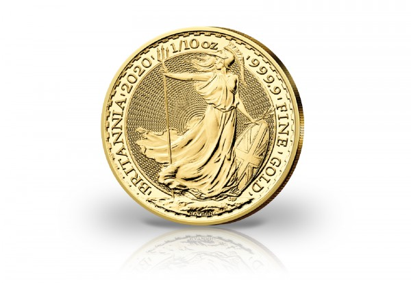 Britannia 1/10 oz Gold 2020 Großbritannien