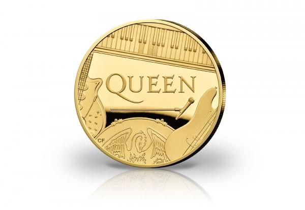Rockband Queen 1 oz Gold 2020 Großbritannien