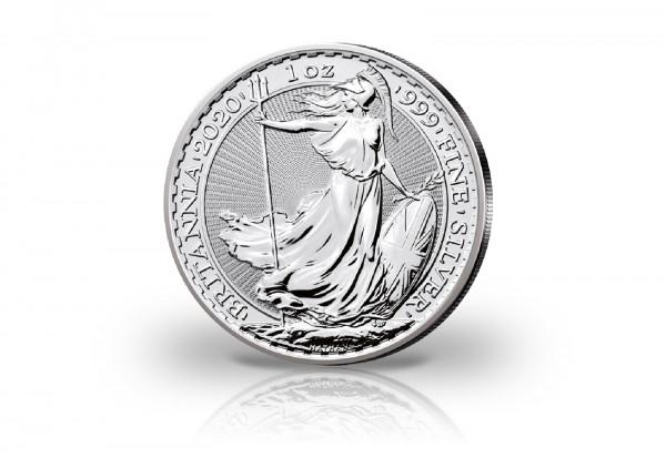 Britannia 1 oz Silber 2020 Großbritannien
