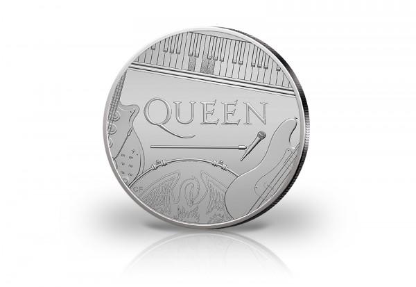 Rockband Queen 1 oz Silber 2020 Großbritannien