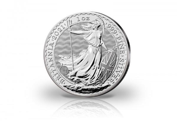 Britannia 1 oz Silber 2021 Großbritannien