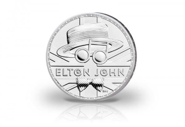 Elton John 1 oz Silber 2021 Großbritannien
