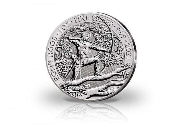 Robin Hood Myths and Legends 1 oz Silber 2021 Großbritannien