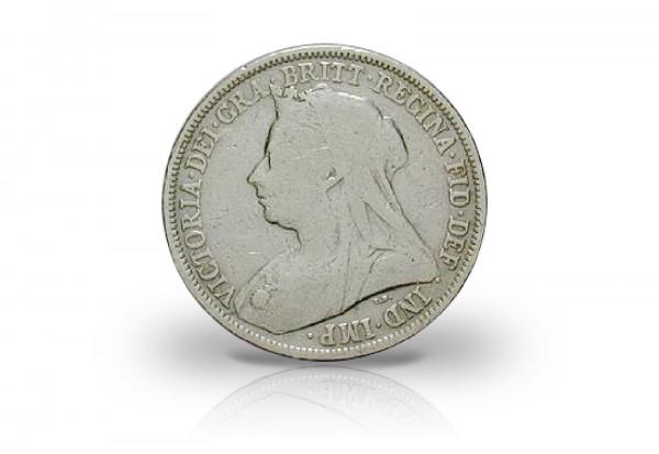 1 Schilling 1893-1901 Großbritannien Queen Victoria Witwenportrait