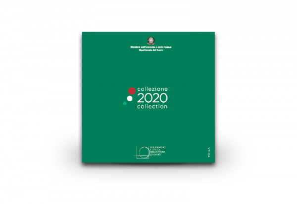 Kursmünzensatz 2020 Italien st im Blister