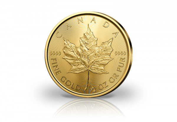 Maple Leaf 1/2 oz Gold 2020 Kanada