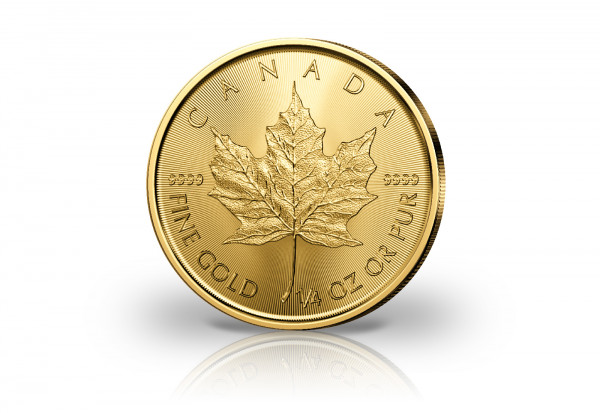 Maple Leaf 1/4 oz Gold 2020 Kanada