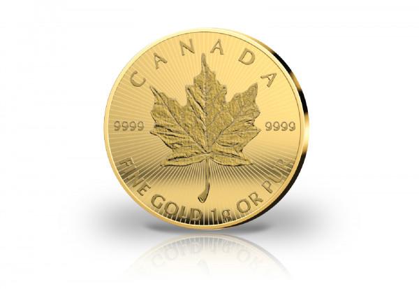 Maple Leaf Maplegram 1 Gramm Gold 2021 Kanada als 25er Pack im Blister
