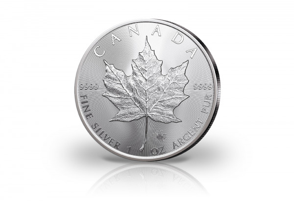 Maple Leaf 1 oz Silber 2021 Kanada