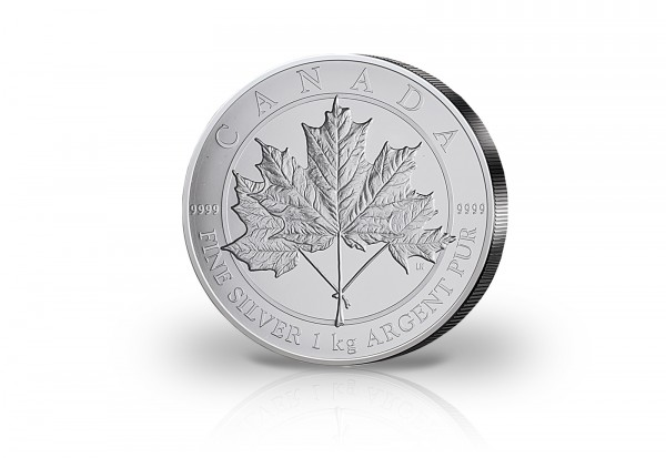 Maple Leaf 1 Kilogramm Silber 2012 Kanada Maple Leaf Forever