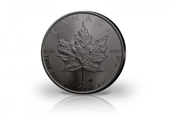 Maple Leaf 1 oz Silber 2020 Kanada veredelt mit Ruthenium