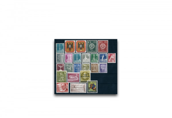 Berlin Jahrgang 1956 postfrisch Mi.Nr. 135-158