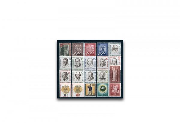 Berlin Jahrgang 1957 postfrisch Mi.Nr. 159-179