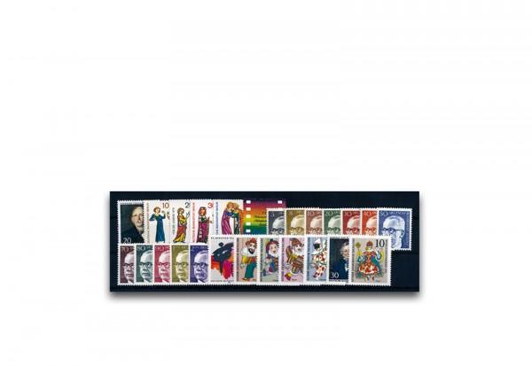 Briefmarken Berlin Jahrgang 1970 Michel-Nr. 353-379 postfrisch