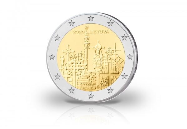 2 Euro 2020 Litauen Berg der Kreuze