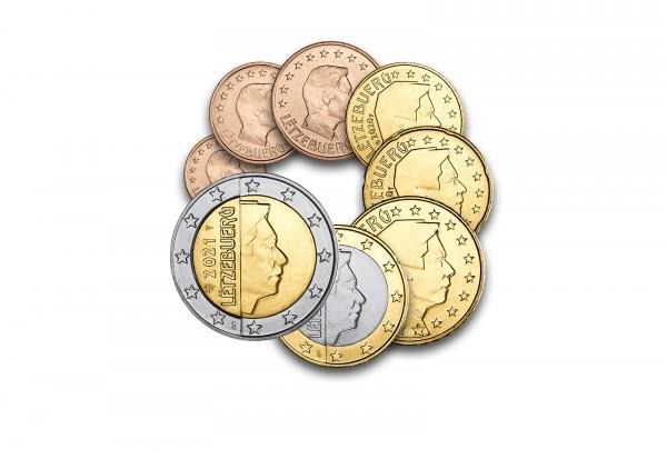 Eurosatz 2021 Luxemburg