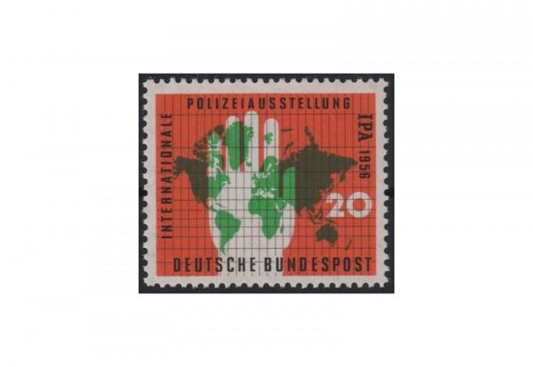 BRD Internationale Polizeiausstellung (IPA) 1956 Mi.Nr. 240 postfrisch