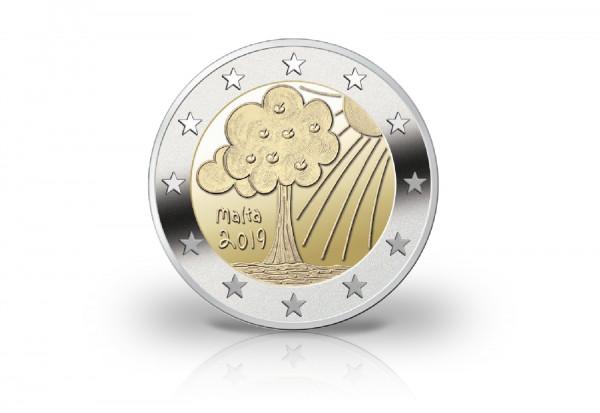 2 Euro 2019 Malta Natur und Umwelt