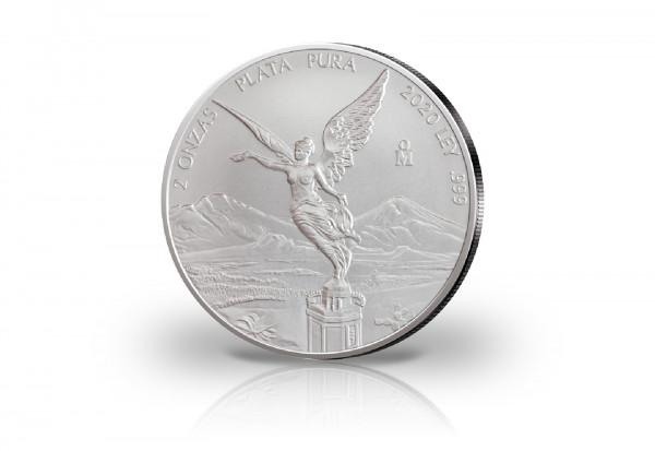 Libertad 2 oz Silber 2020 Mexiko