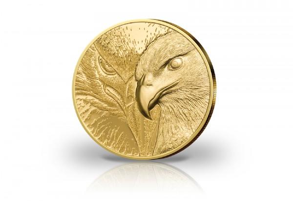 Majestic Eagle 1/10 oz Gold 2020 Mongolei PP