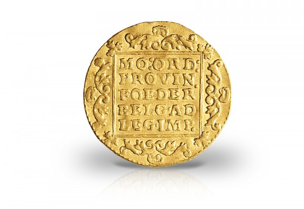 Handelsdukat Goldmünze 1803 - 1806 Niederlande