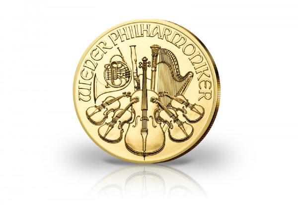 Wiener Philharmoniker 1/10 oz Gold 2020 Österreich