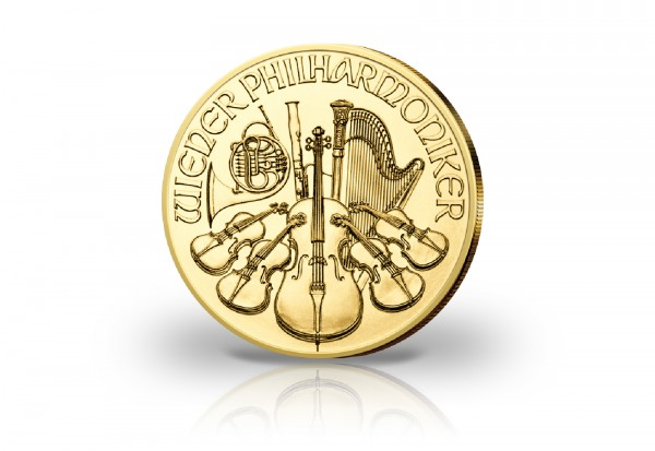 Wiener Philharmoniker 1/2 oz Gold 2020 Österreich