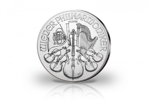 Wiener Philharmoniker 1 oz Silber 2021 Österreich