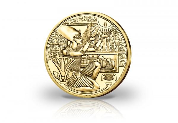 100 Euro Goldmünze 2020 Österreich Das Gold der Pharaonen PP im Etui