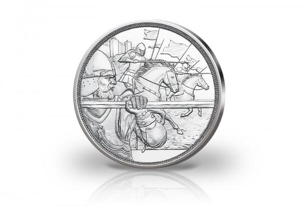 10 Euro Silbermünze 2020 Österreich Mit Kettenhemd und Schwert Tapferkeit hgh