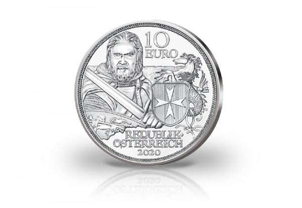 10 Euro Silbermünze 2020 Österreich Standhaftigkeit hgh