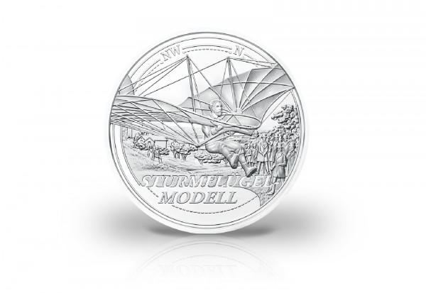 20 Euro Silbermünze 2019 Österreich Traum vom Fliegen PP