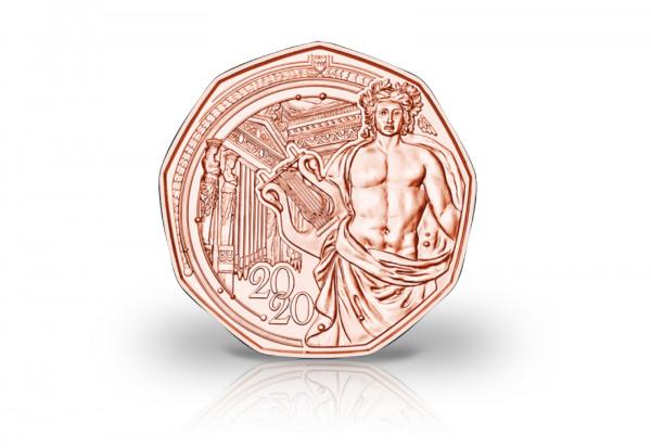 5 Euro Kupfermünze 2020 Österreich 150 Jahre Musikverein