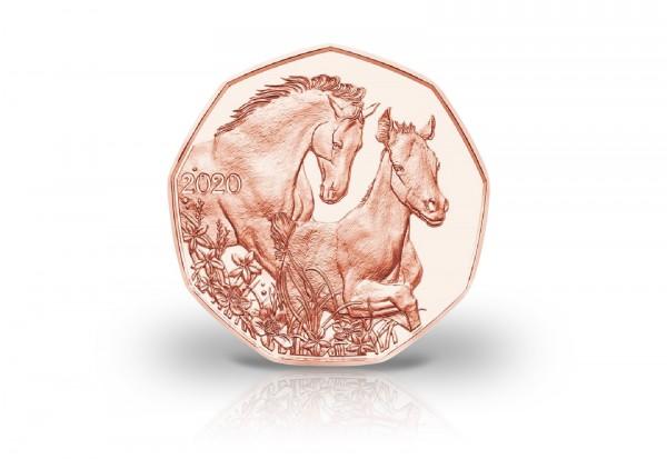 5 Euro Kupfermünze 2020 Österreich Freunde fürs Leben