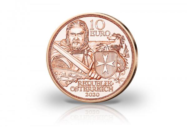 10 Euro Kupfermünze 2020 Österreich Standhaftigkeit
