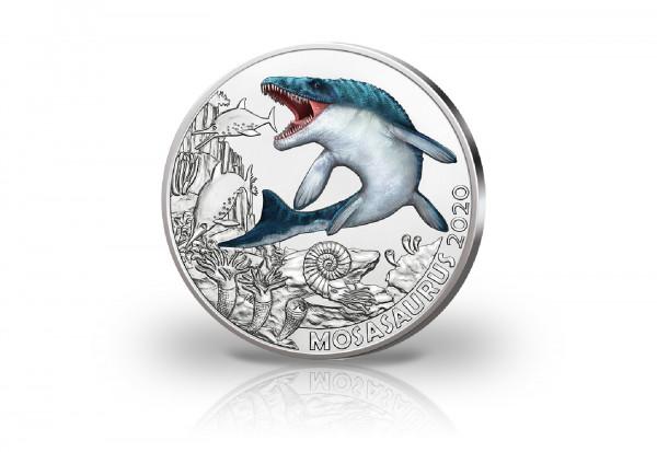 3 Euro 2020 Österreich Mosasaurus Hoffmani Super Saurier hgh