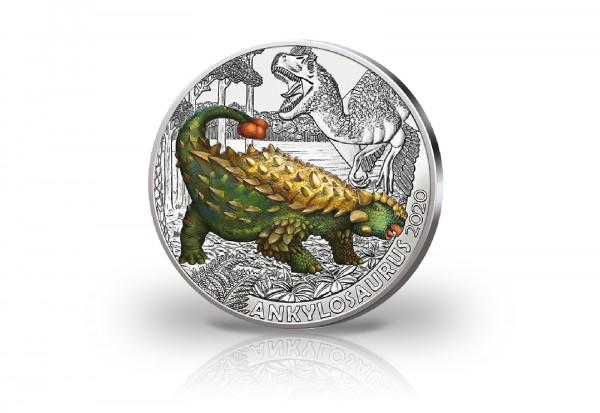 3 Euro 2020 Österreich Ankylosaurus Magniventris Super Saurier hgh