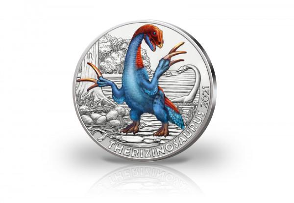 3 Euro 2021 Österreich Therizinosaurus Cheloniformis Super Saurier hgh