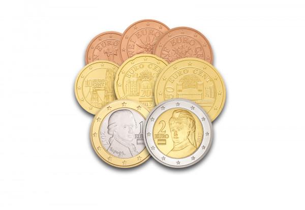 Eurosatz Jahrgang unserer Wahl Österreich