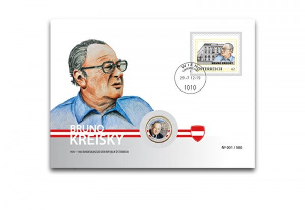 Numisbrief Bruno Kreisky