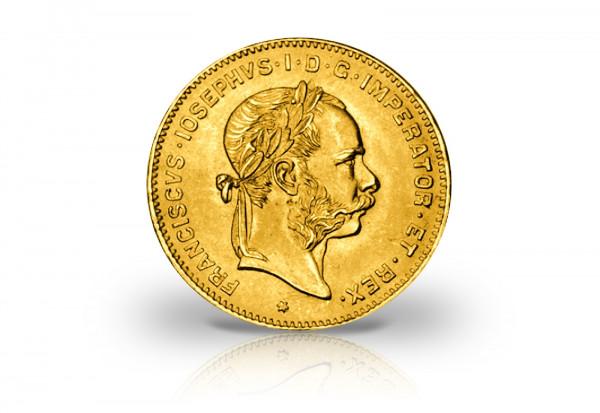 4 Florin/Gulden Goldmünze 1892 Österreich-Ungarn
