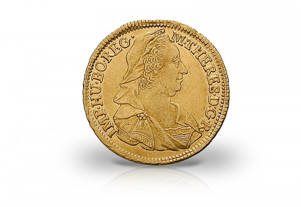 Gold Dukat 1765-1780 Österreich Maria Theresia vz