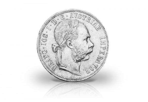 1 Florin 1872-1892 Österreich Franz Joseph I. ANK 31