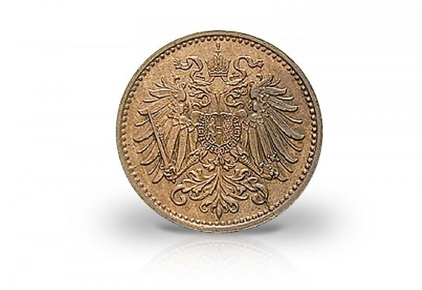 Österreich 1 Heller 1892-1916 Kaiserreich ss