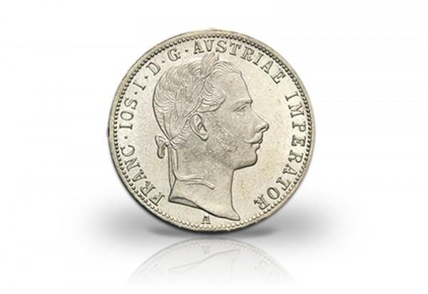 Österreich 1 Gulden Silbermünze 1857-1892 Franz Joseph ss