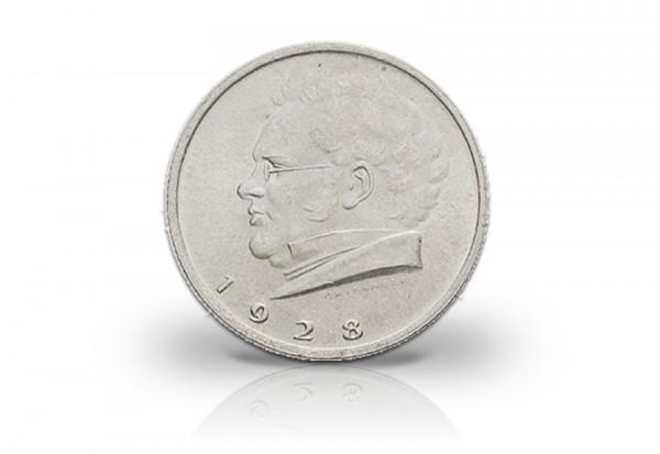 1. Republik Österreich 2 Schilling Silbermünze 1928 Franz Schubert