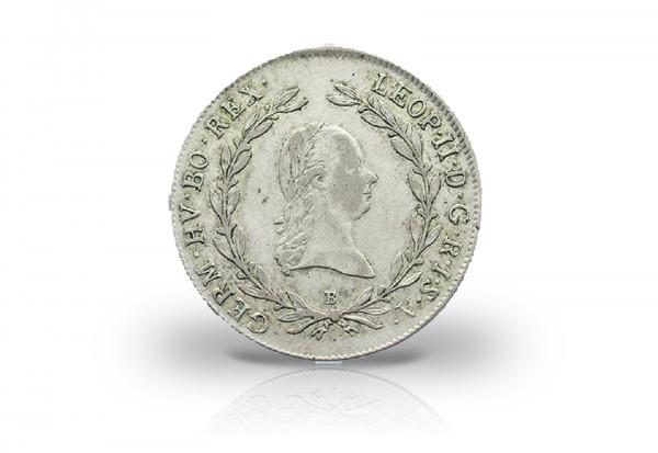20 Kreuzer 1790-1792 Österreich Leopold II.